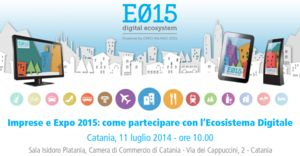 Il RoadShow Ecosistema digitale e015 fa tappa in Sicilia, a Catania